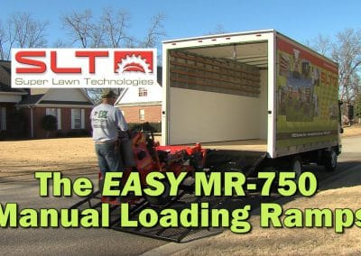 SLT MR-750 Manual Loading Ramp Ease of Installation