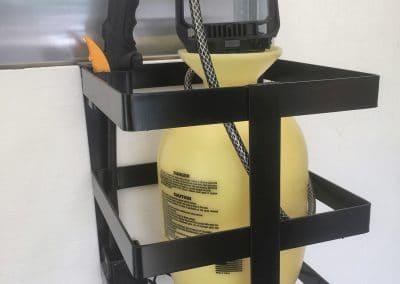 Hand Sprayer Rack (1 or 2 Gallon Round) $140.00