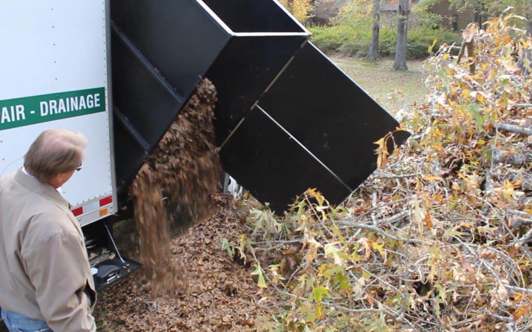 Debris Dumpers Help Get Rid of Green Waste Faster