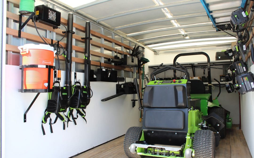 Tool Storage Systems for Landscaping Trucks