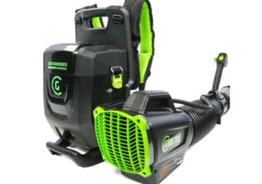 Greenworks GBB700: 82V Dual Port Backpack Blower 690cfm/165mph (Tool Only) $299.00
