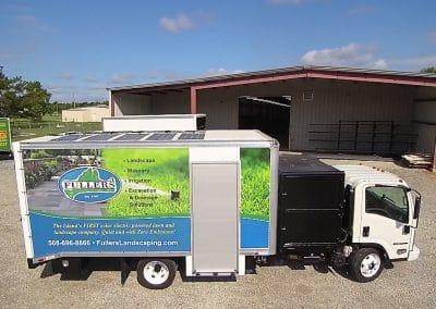 Solar Lawn Truck Fuller Side 3