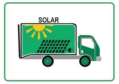 Solar Lawn Truck