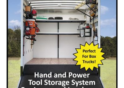 Tool Storage Racks for Box Trucks