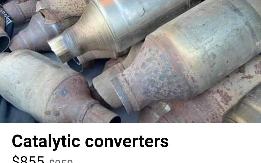 $32,000 Stolen from Super Lawn Trucks in Ripped Out Catalytic Converters-Thefts Rampant Across Middle Georgia!